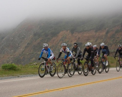 Day 3 of the coast ride..Big Sur to Cayucos!