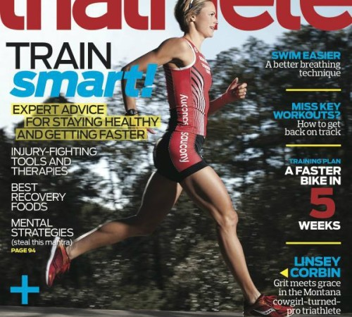LNC is Triathlete Mag's June Cover gal!
