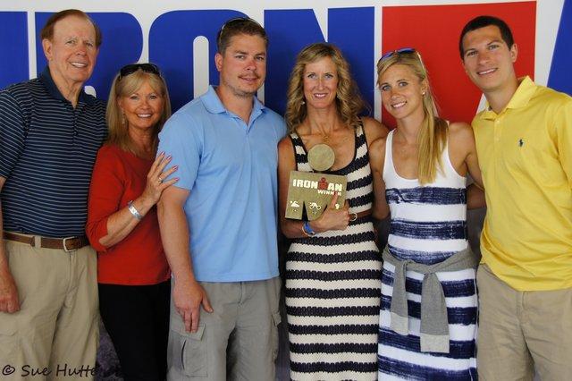 Meredith Kessler family Ironman CDA 2012