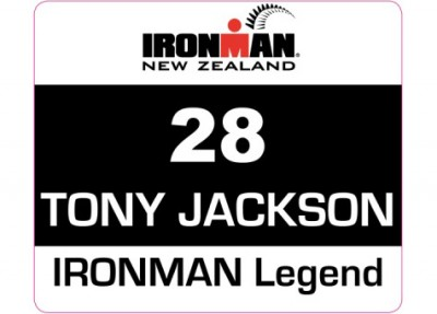 Meredith Kessler Tony Jackson Ironman Legend New Zealand