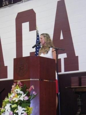 Meredith Kessler Columbus Academy Commencement Speech