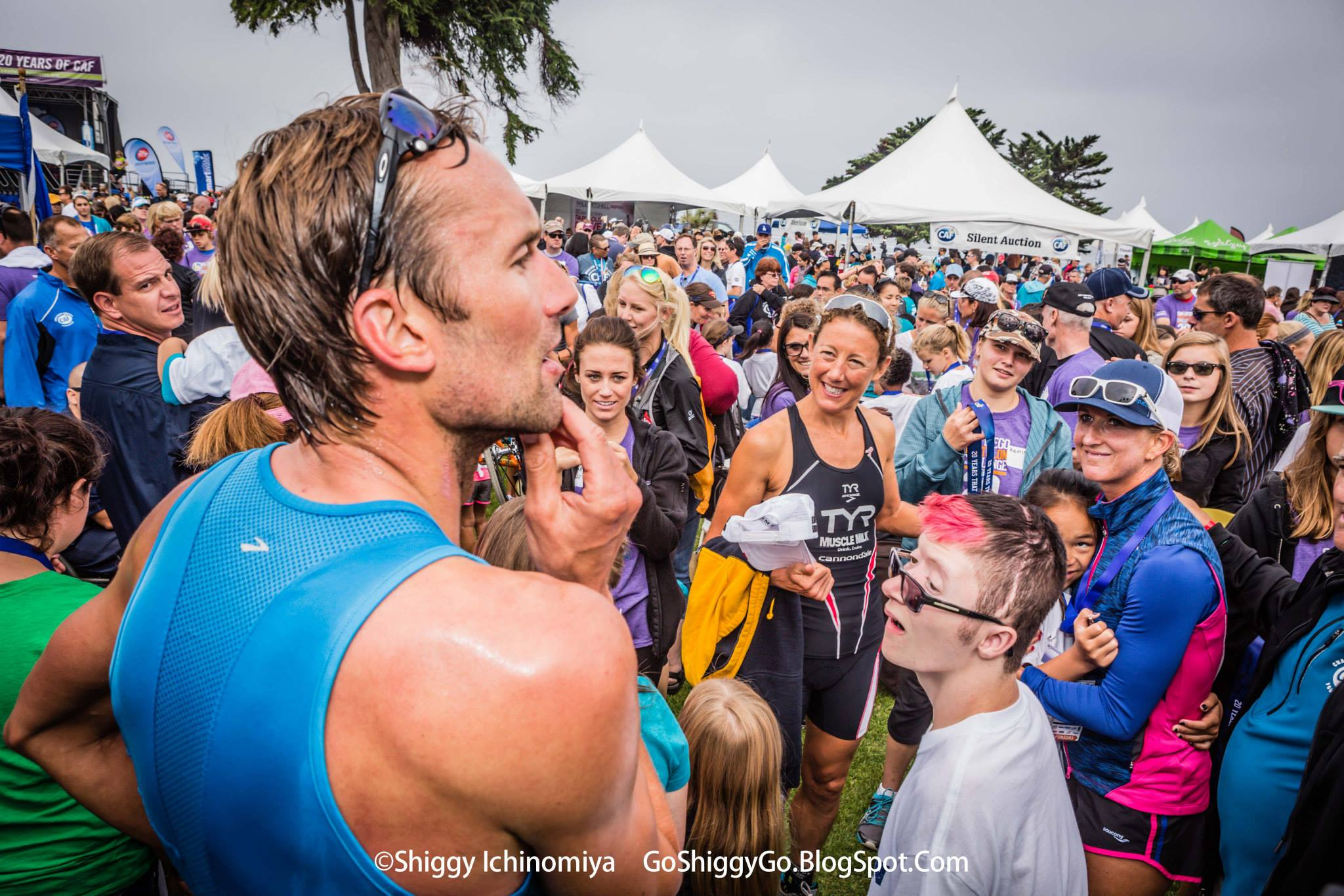 Challenged Athlete Foundation San Diego Triathlon best day in tri