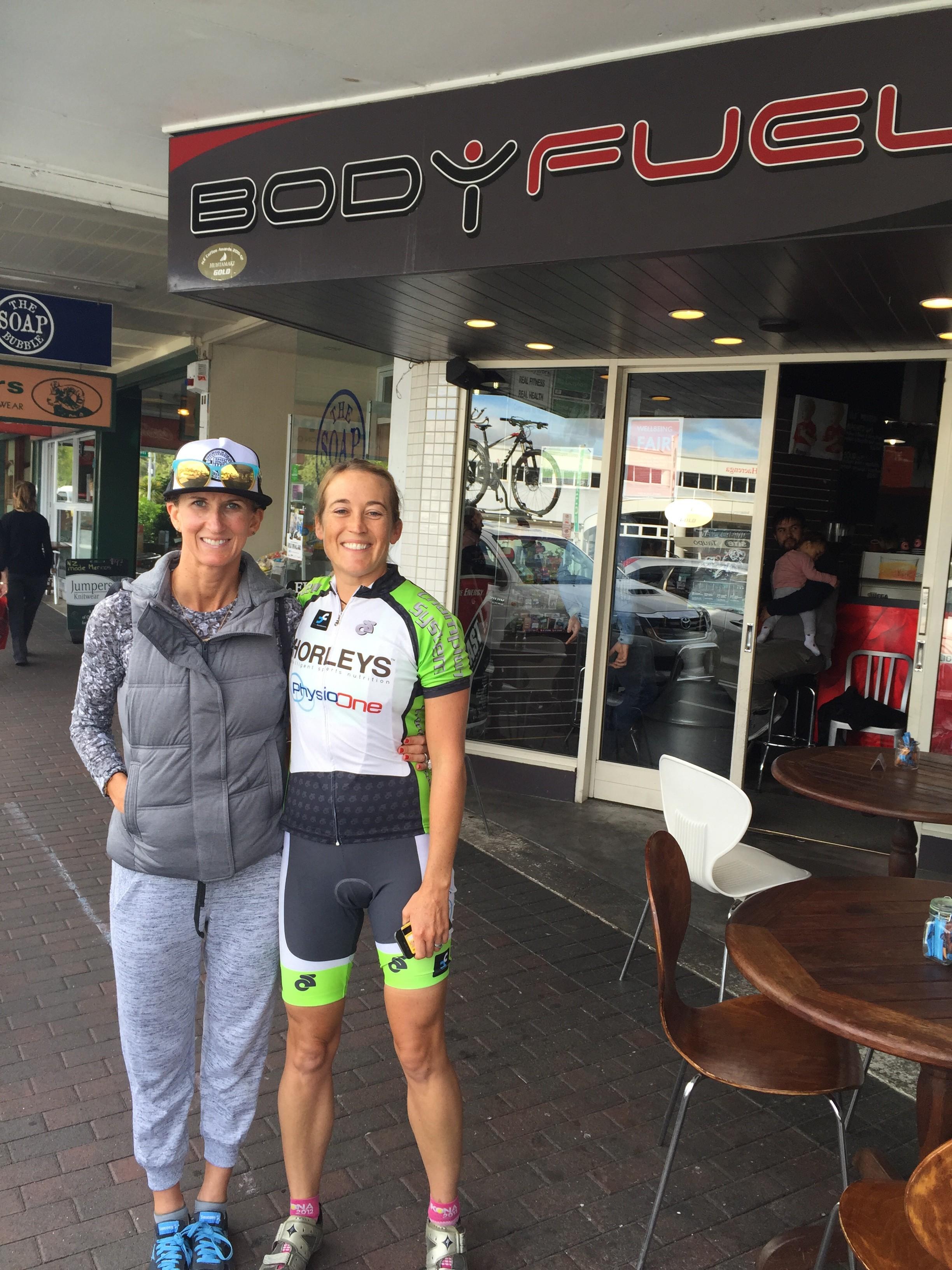Meredith Kessler triathlete Bodyfuel Anna Russell