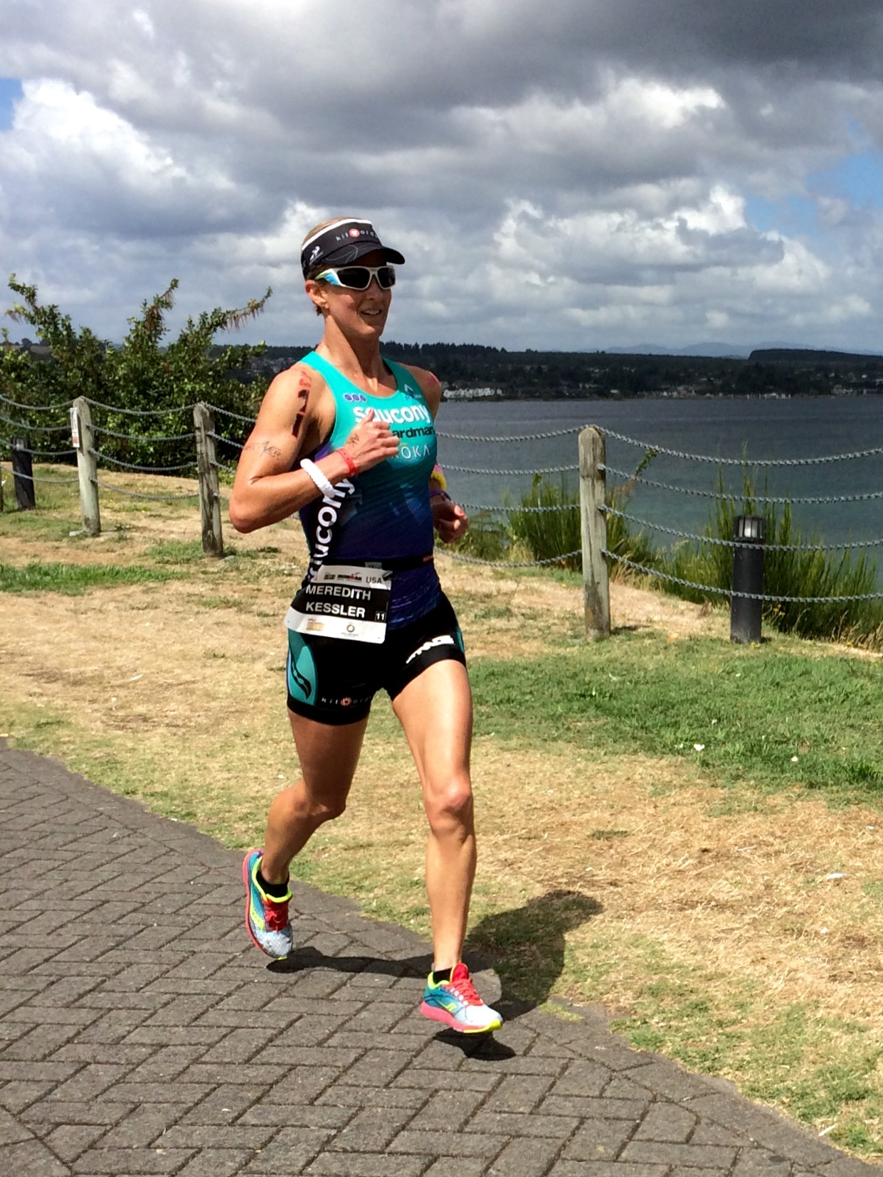 Meredith Kessler triathlete ironman new zealand running