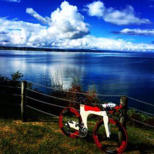Meredith Kessler Lake Taupo Ventum Bike