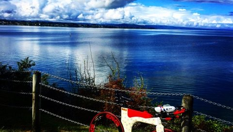 Meredith Kessler Lake Taupo Ventum Bike