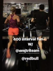 Meredith Kessler Triathlete treadmill everyman jack ritch viola