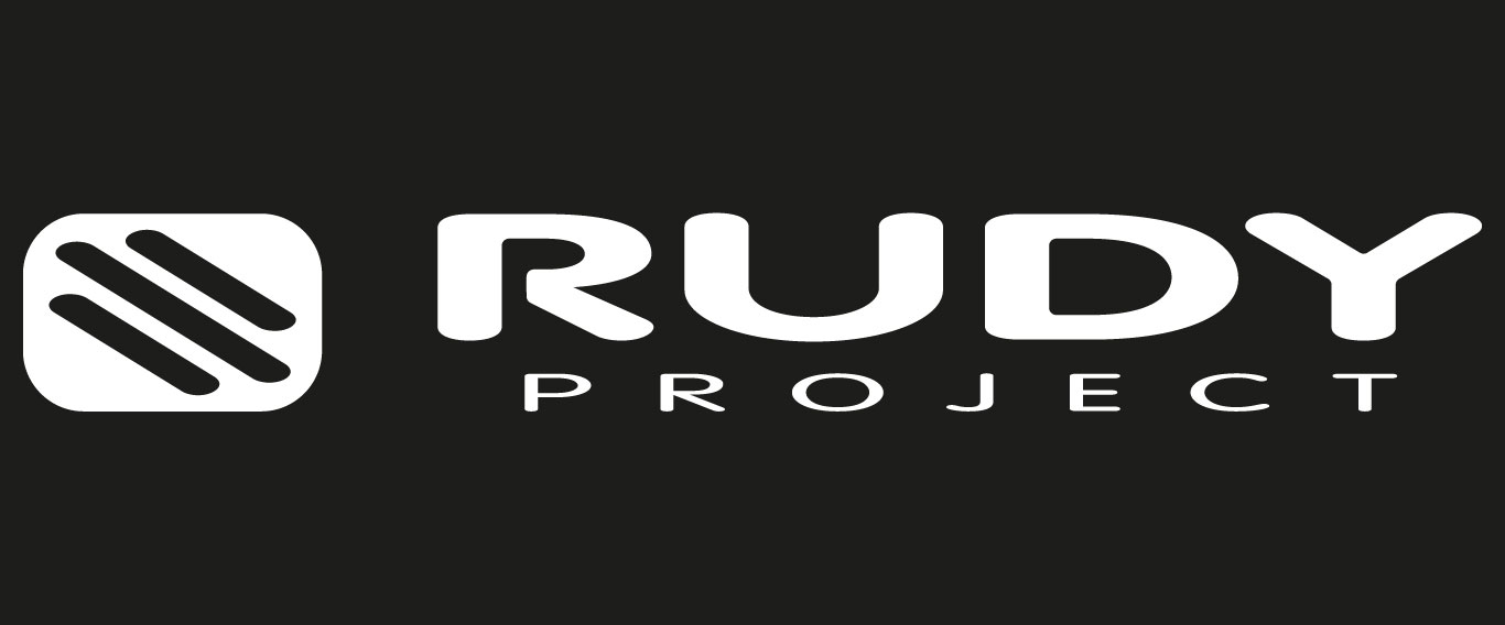 Rudy Project Sunglasses and Helmets Logo White Letters