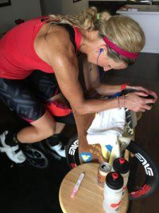 Meredith Kessler Triathlete Pregnancy Test Ventum Bike