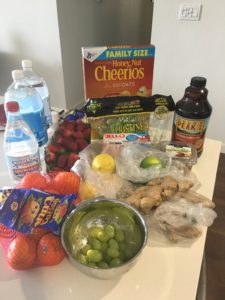 Food for pregnant lady