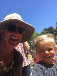 Meredith Kessler Triathlete With Friends Child