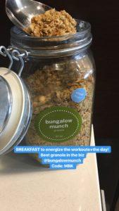Meredith Kessler Triathlete Bungalow Munch Granola