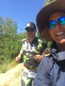 Meredith Kessler Triathlete Ironman Santa Rosa 70.3 2017 Spectating