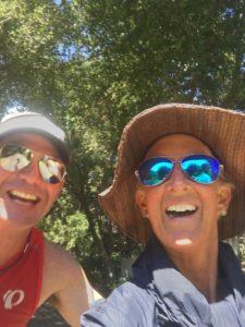 Meredith Kessler Triathlete with Felicity Joyce Ironman Santa Rosa 70.3