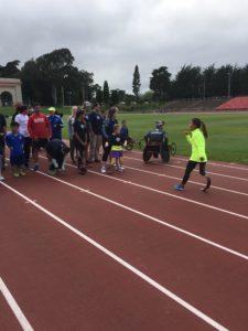Meredith Kessler Triathlete at Challenged Athletes Foundation Event San Francisco