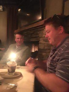 Meredith Kessler Triathlete Husband Birthday Dinner
