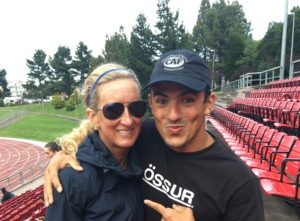 Meredith Kessler Triathlete Challenged Athletes Foundation Event Mohamed Lahna