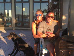 Meredith Kessler and Frankie Kim in Corte Madera