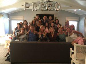 Meredith Kessler baby shower mill valley California
