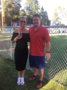 Meredith Kessler with Aaron Kessler at ZÜPA NOMA Sonoma Brands event