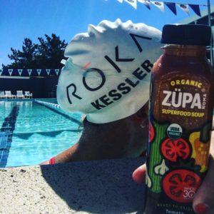 Meredith Kessler at Bay Club Marin pool and ZÜPA NOMA