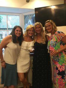 Meredith Kessler and Columbus Academy friends baby shower Ohio