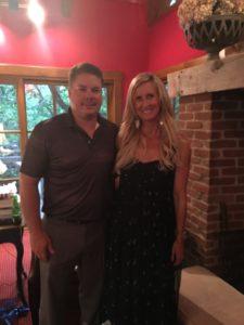 Meredith Kessler with husband Aaron Kessler baby shower Columbus Ohio