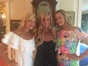 Meredith Kessler and high school friends baby shower