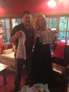Meredith Kessler and Aaron Kessler baby gifts baby shower