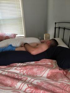 Meredith Kessler husband catching some rest