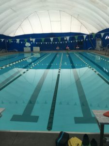 Meredith Kessler swimming pool at The Lakes Golf and Country Club