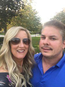 Meredith Kessler and husband Aaron Kessler Westerville Ohio