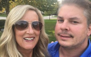 Meredith Kessler and husband Aaron Kessler Westerville Ohio