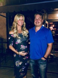 Meredith Kessler baby bump in Westerville Ohio